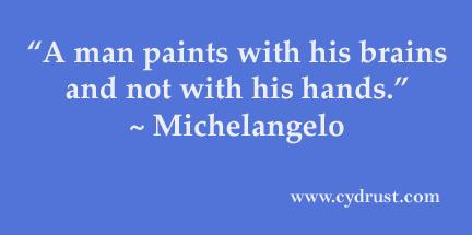 Michelangelo-manpaintswithhisbrain