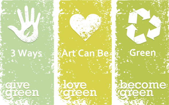 "3 Simple Ways Artists Can ""Go Green"""